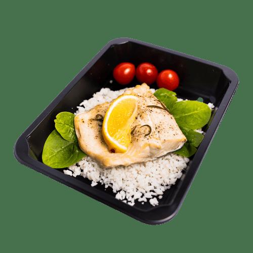 Dieta pudełkowa z łososiem
